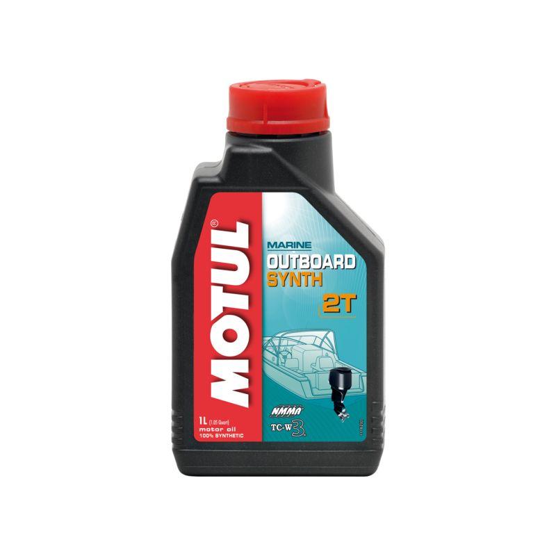 huile 2 temps hors bord 100% synthétique bidon de 1 litre